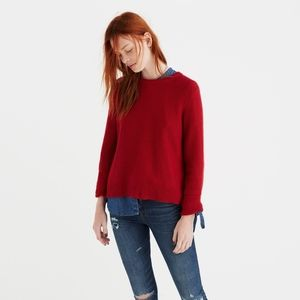 Madewell Button Back Sweater